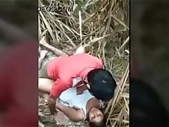 Indian couple outdoor fuck