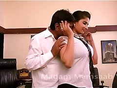 Desi Sexy Girl Romancing With Boss For Promotion | For Full Video go to - https://miniurl.pw/Desi