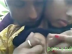 Boyfriend sucking Boobs Gralfrind Indian